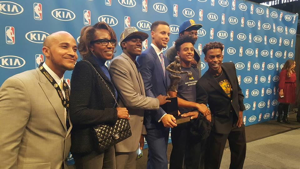 Why Steph Curry Donated to San Francisco Achievers