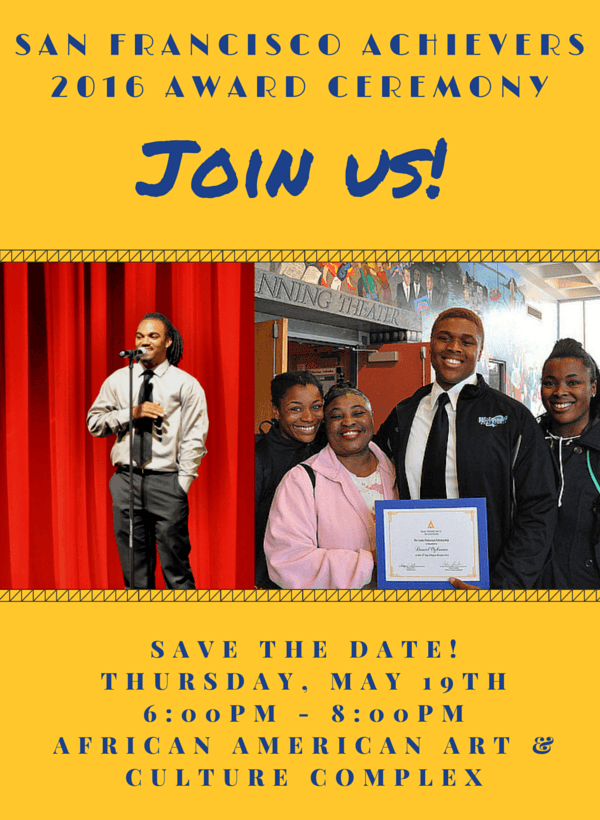 Award Save the Date Yellow