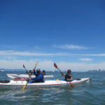 Kayaking near Sausalito